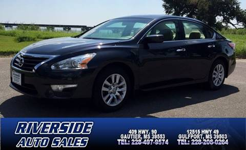 2015 Nissan Altima for sale in Gautier, MS