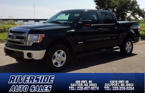 2013 Ford F-150 for sale in Gautier, MS