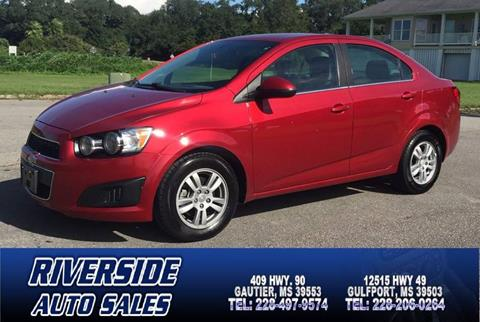 2015 Chevrolet Sonic for sale in Gautier, MS