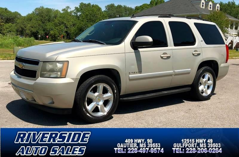 2007 Chevrolet Tahoe For Sale At Riverside Auto Sales * In Gulfport MS