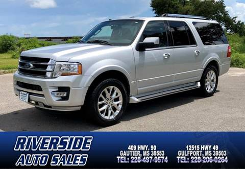Ford Expedition El For Sale At Riverside Auto Sales In Gautier Ms
