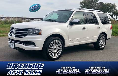 2015 Lincoln Navigator for sale in Gautier, MS