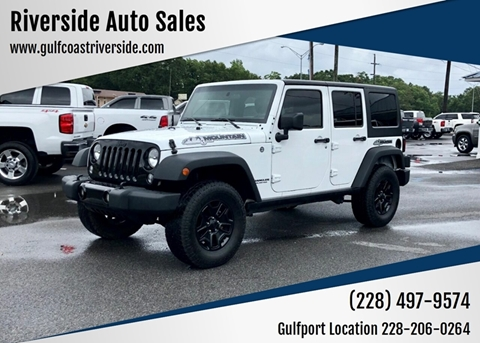 2015 Jeep Wrangler Unlimited for sale in Gautier, MS