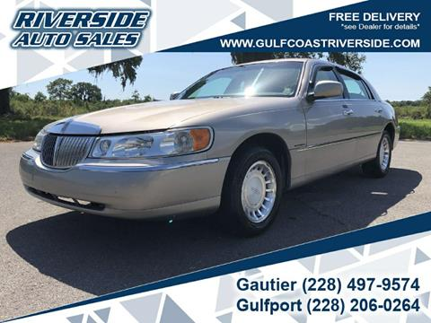 2000 Lincoln Town Car for sale in Gautier, MS