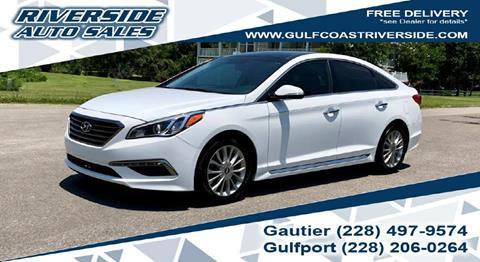 2015 Hyundai Sonata for sale in Gautier, MS