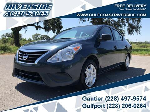 2015 Nissan Versa for sale in Gautier, MS