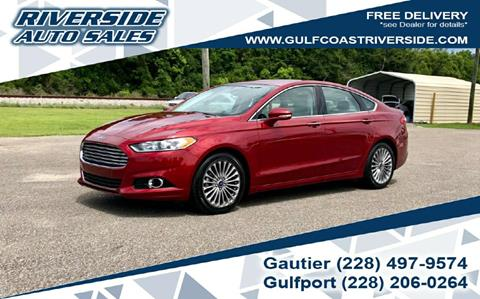 2015 Ford Fusion for sale in Gulfport, MS