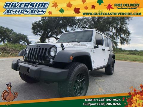 2015 Jeep Wrangler Unlimited for sale in Gulfport, MS
