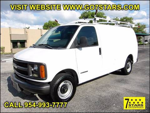 2002 Chevrolet Express Cargo for sale in Pompano Beach, FL