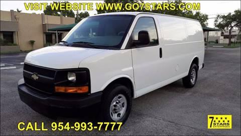 2013 Chevrolet Express Cargo for sale in Pompano Beach, FL