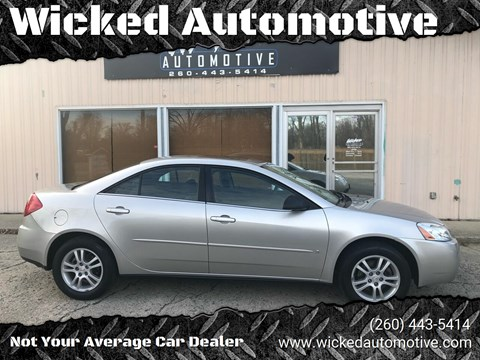 2006 Pontiac G6 for sale in New Haven, IN