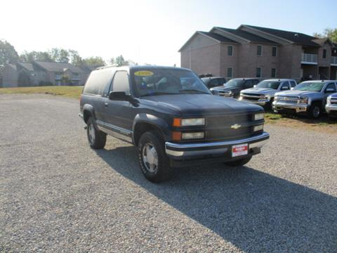 1998 Chevrolet Tahoe for sale in Orleans, IN