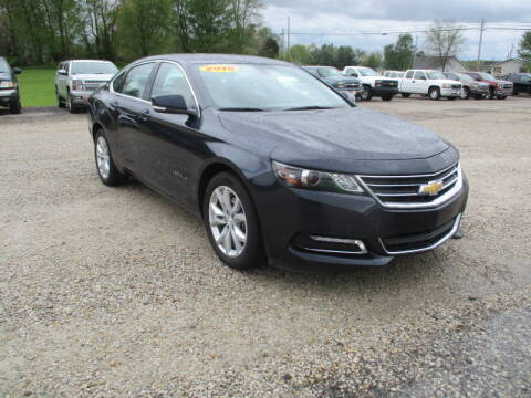2019 Chevrolet Impala LT for sale at BABCOCK MOTORS INC in Orleans IN