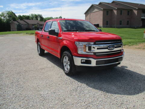 2018 Ford F-150 for sale at BABCOCK MOTORS INC in Orleans IN