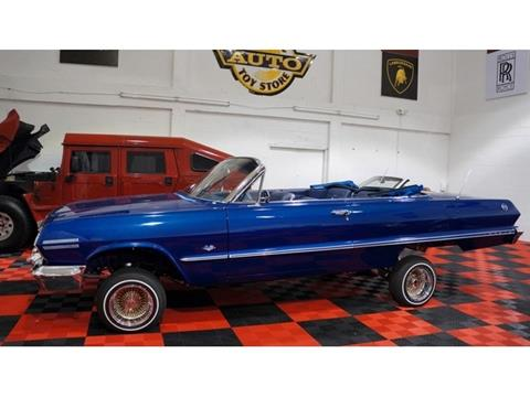 1963 Chevrolet Impala for sale at The New Auto Toy Store in Fort Lauderdale FL