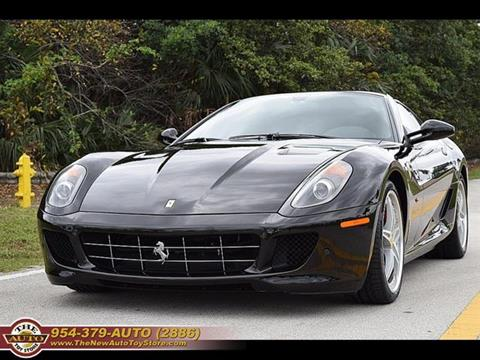 2011 Ferrari 599 GTB Fiorano for sale at The New Auto Toy Store in Fort Lauderdale FL