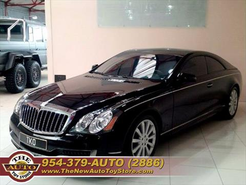 2010 Maybach 57S for sale at The New Auto Toy Store in Fort Lauderdale FL