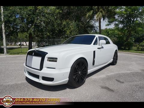 2014 Rolls-Royce Phantom Coupe for sale at The New Auto Toy Store in Fort Lauderdale FL