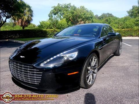 2016 Aston Martin Rapide S for sale at The New Auto Toy Store in Fort Lauderdale FL