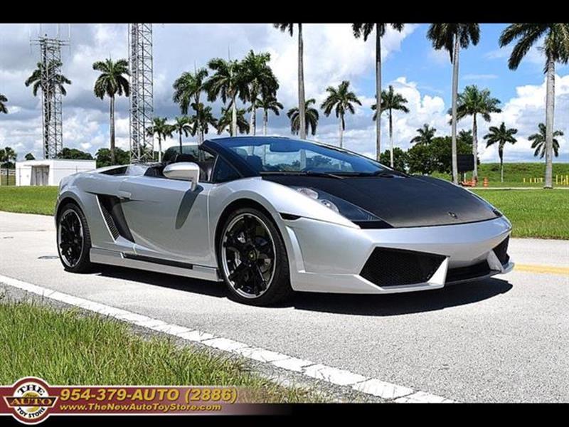 2006 Lamborghini Gallardo Awd Spyder 2dr Convertible In Fort