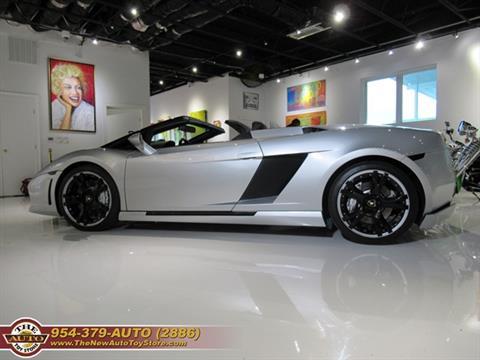 2006 Lamborghini Gallardo for sale at The New Auto Toy Store in Fort Lauderdale FL