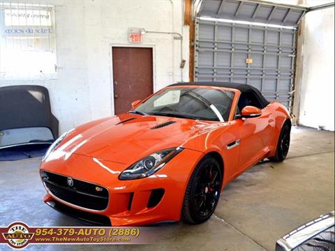 2014 Jaguar F-TYPE for sale at The New Auto Toy Store in Fort Lauderdale FL