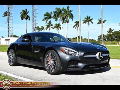 2016 Mercedes-Benz AMG GT for sale at The New Auto Toy Store in Fort Lauderdale FL
