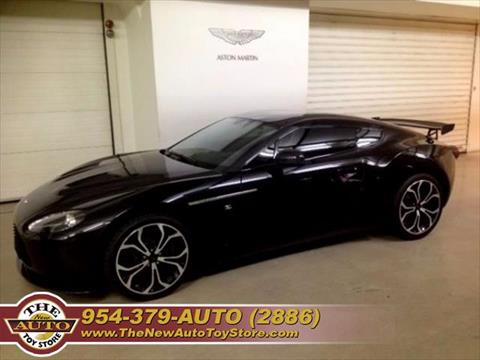 2013 Aston Martin Zagato Voiture for sale at The New Auto Toy Store in Fort Lauderdale FL