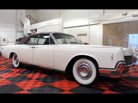 1966 Lincoln Continental for sale at The New Auto Toy Store in Fort Lauderdale FL