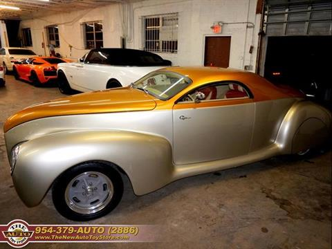 1939 Lincoln Zephyr for sale at The New Auto Toy Store in Fort Lauderdale FL