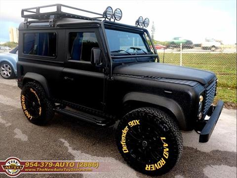 Land Rover Defender For Sale Carsforsale Com