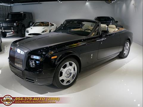 2008 Rolls-Royce Phantom Drophead Coupe for sale at The New Auto Toy Store in Fort Lauderdale FL