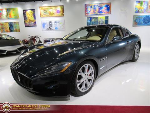 2008 Maserati GranTurismo for sale at The New Auto Toy Store in Fort Lauderdale FL