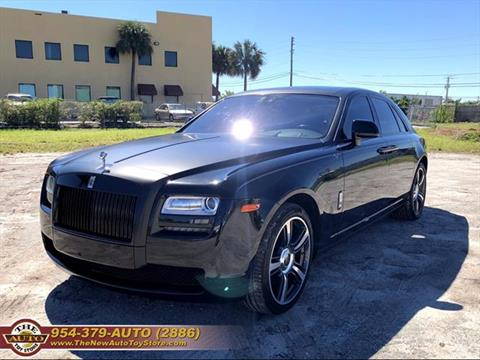 2014 Rolls-Royce Ghost for sale at The New Auto Toy Store in Fort Lauderdale FL