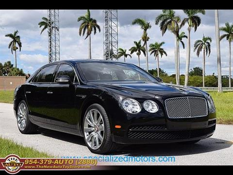 2015 Bentley Flying Spur for sale at The New Auto Toy Store in Fort Lauderdale FL