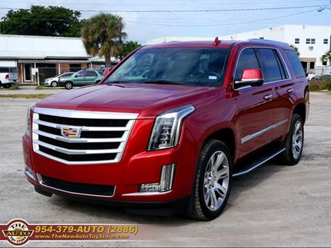 cadillac escalade for sale in fort lauderdale fl. Black Bedroom Furniture Sets. Home Design Ideas