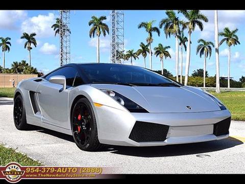 2004 Lamborghini Gallardo for sale at The New Auto Toy Store in Fort Lauderdale FL