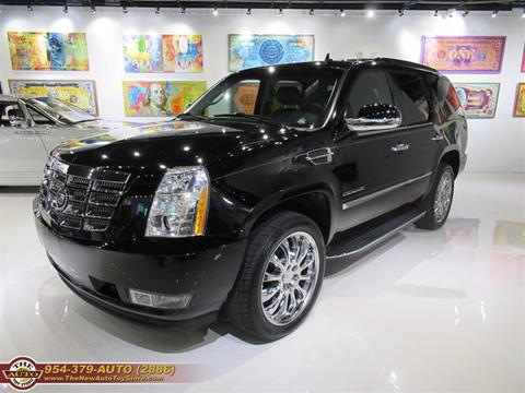2011 Cadillac Escalade for sale at The New Auto Toy Store in Fort Lauderdale FL