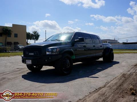 2009 Dodge Ram Pickup 3500 for sale at The New Auto Toy Store in Fort Lauderdale FL