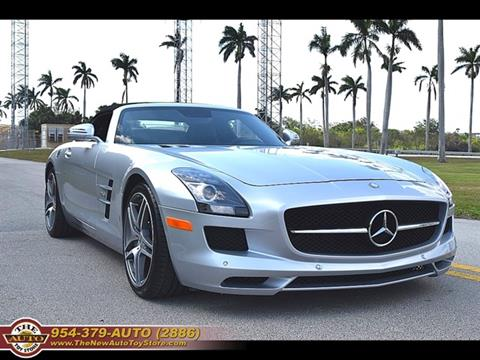 2012 Mercedes-Benz SLS AMG for sale at The New Auto Toy Store in Fort Lauderdale FL