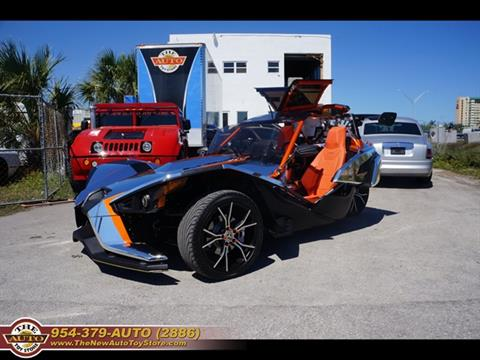 2015 Polaris Slingshot for sale at The New Auto Toy Store in Fort Lauderdale FL