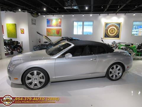 2007 Bentley Continental for sale at The New Auto Toy Store in Fort Lauderdale FL