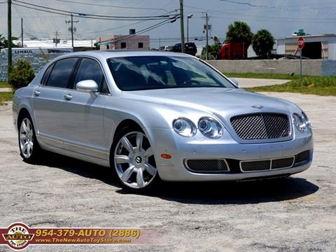 2006 Bentley Continental for sale at The New Auto Toy Store in Fort Lauderdale FL