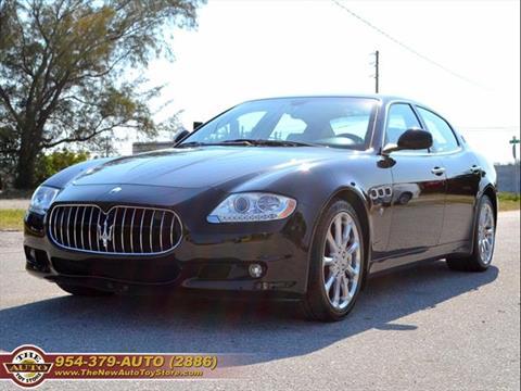 used 2009 maserati quattroporte for sale in louisiana - carsforsale®