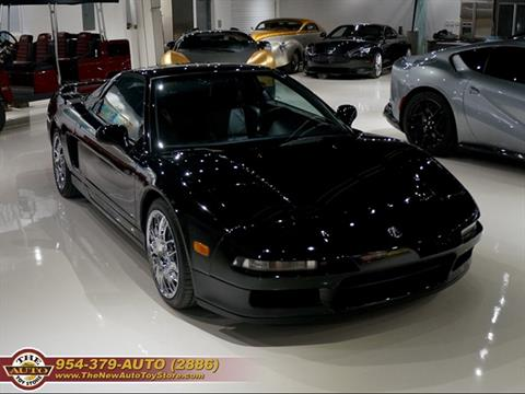 1991 Acura NSX for sale at The New Auto Toy Store in Fort Lauderdale FL