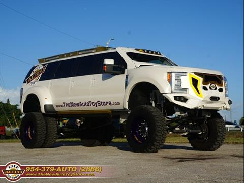 2002 Ford Excursion for sale at The New Auto Toy Store in Fort Lauderdale FL