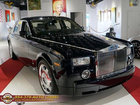 2004 Rolls-Royce Phantom for sale at The New Auto Toy Store in Fort Lauderdale FL