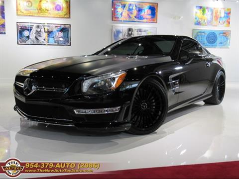 2014 Mercedes-Benz SL-Class for sale at The New Auto Toy Store in Fort Lauderdale FL