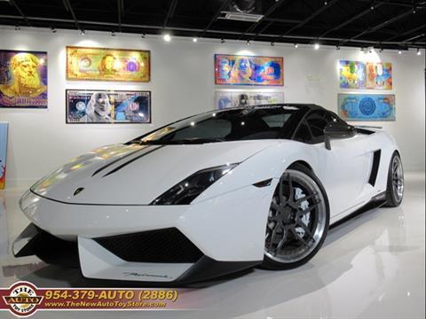 2011 Lamborghini Gallardo for sale at The New Auto Toy Store in Fort Lauderdale FL