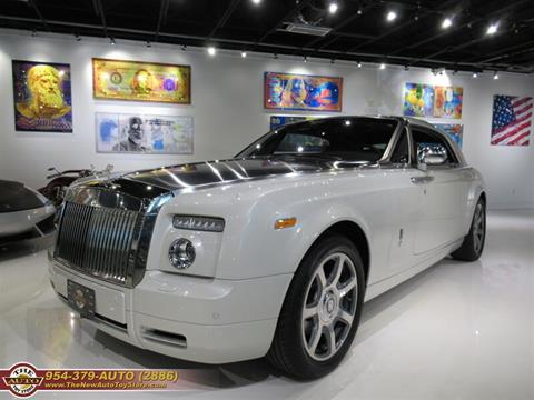 2009 Rolls-Royce Phantom Coupe for sale at The New Auto Toy Store in Fort Lauderdale FL